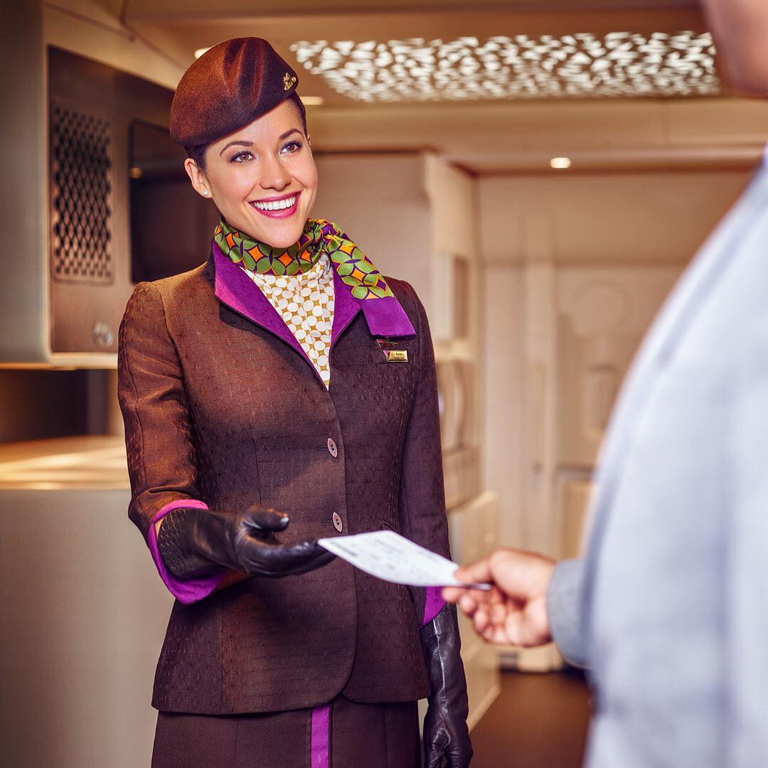 Etihad Airways, ОАЭ